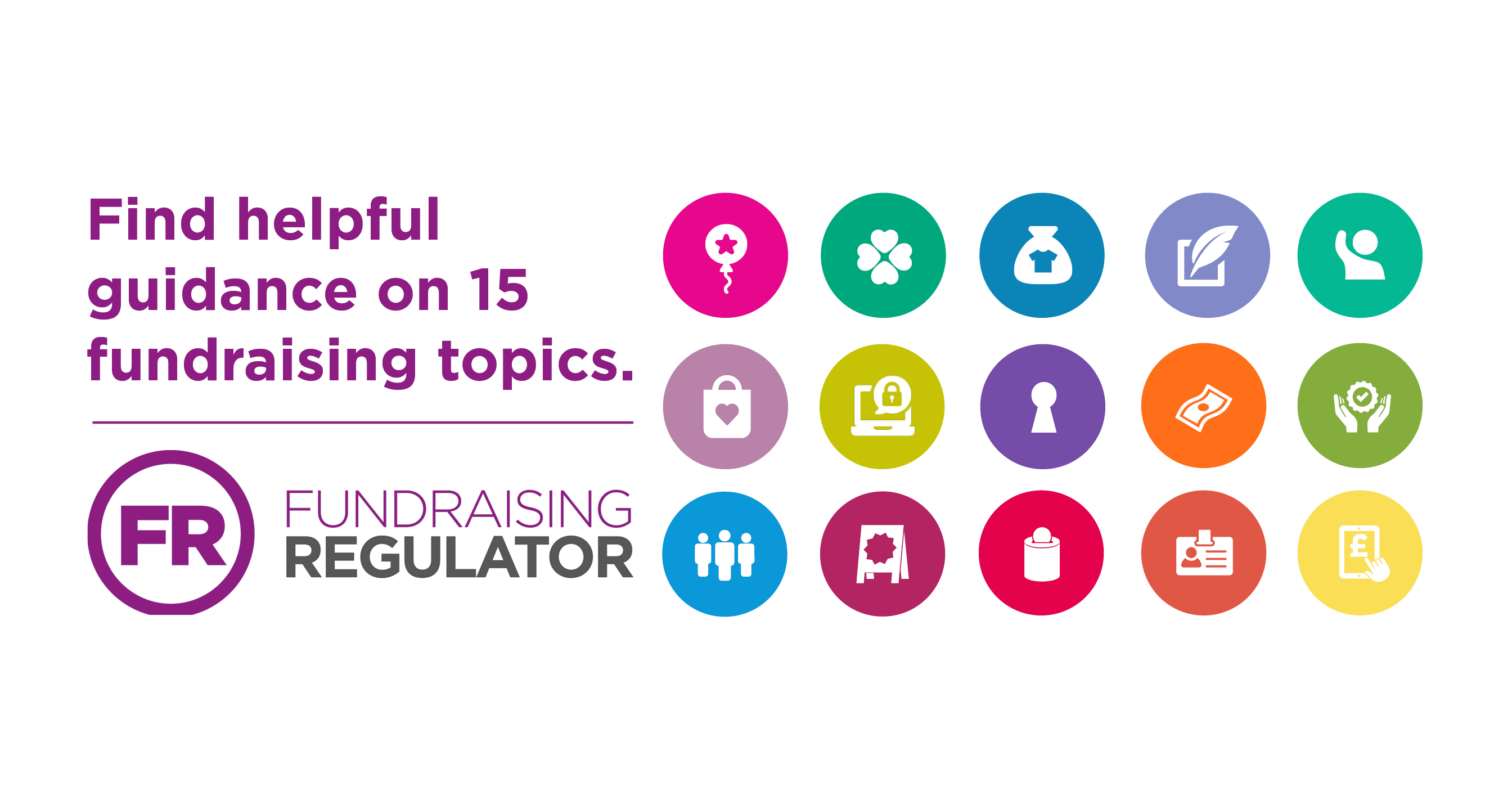 Find helpful guidance on 15 different fundraising topics